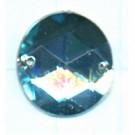 opnaaistenen 15mm blauw rond kleurnummer 6002