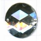 opnaaistenen 20mm kristal rond