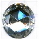 opnaaistenen 28mm kristal rond
