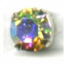 opnaaistenen 7mm kristal rond glas kleurnummer 0003