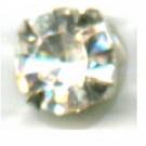 opnaaistenen 7mm kristal rond glas kleurnummer 0004