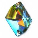 opnaaistenen 26mm kristal kristal kleurnummer 0003