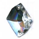 opnaaistenen 26mm kristal kristal