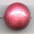 kralen 24mm roze rond mache papier kleurnummer 814