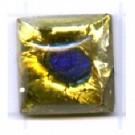 plakstenen 10mm geel vierkant glas