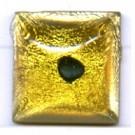 plakstenen 14mm geel vierkant glas