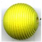 ribbelkralen 16mm groen rond hout kleurnummer 99