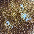 Mooie rocailles borduurkralen glas 6/0 bruin