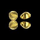 24 karaat vergulde metalen kauri kralen 13mm