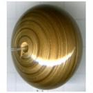schijven 31mm goud rond kunststof
