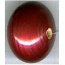schijven 31mm rood rond kunststof