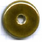 schijven 10mm bruin rond keramiek