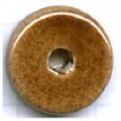 schijven 12mm bruin rond keramiek kleurnummer 17
