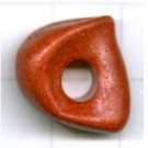 schijven 18mm oranje rond keramiek