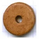 schijven 12mm bruin rond keramiek kleurnummer 434