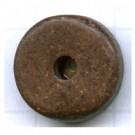 schijven 12mm bruin rond keramiek kleurnummer 446