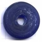 schijven 25mm blauw rond glas