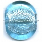 schijven 35mm blauw rond glas