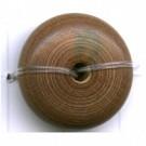 kralen 20mm groen rond schijf hout kleurnummer 79