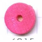 kralen 10mm roze rond schijf hout kleurnummer 6015