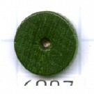 kralen 10mm groen rond schijf hout kleurnummer 6087