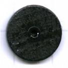 kralen 14mm blauw rond schijf hout kleurnummer 6032