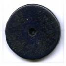 kralen 18mm blauw rond schijf hout kleurnummer 6032
