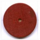 kralen 18mm bruin rond schijf hout kleurnummer 6539