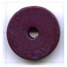 kralen 18mm paars rond schijf 2 hout kleurnummer 6018