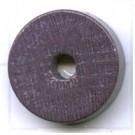 kralen 18mm grijs rond schijf hout