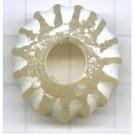 schijven 25mm wit rond kunststof