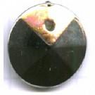 schijven 12mm zilver rond kunststof