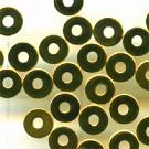 schijfje 4mm goud rond metaal