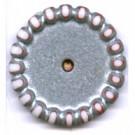schijven 14mm zilver rond kunststof kleurnummer 4