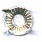 steekkastje 5mm zilver rond metaal kleurnummer 738