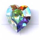 stenen 11mm kristal hartje