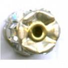 strassrondellen 7mm zilver rond