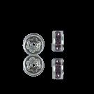 strassrondellen 4mm paars rond