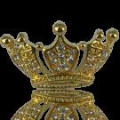 stud 35mm goud kroon