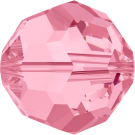 Swarovski Beads 5000 6MM Light Rose