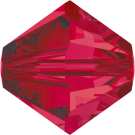 Swarovski Beads 5328 5mm XILION Bicone Ruby