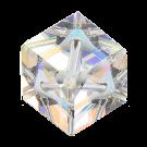 Swarovski kralen 8mm kristal blokje