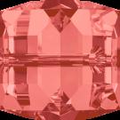 Swarovski kralen 4mm roze blokje