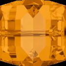 Swarovski kralen 4mm bruin blokje