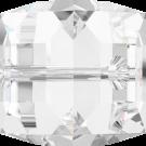 Swarovski kralen 10mm kristal blokje