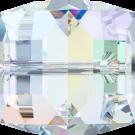 Swarovski kralen 12mm kristal blokje