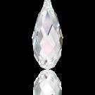 Swarovski Briolette Pendant 6010 13MM crystal ab