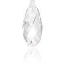 Swarovski Briolette Pendant 6010 13MM crystal