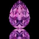 Swarovski fancy stones 10mm amethyst druppel