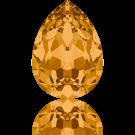 Swarovski fancy stones 10mm topaz druppel